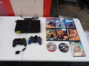 PS2 Playstation 2 w/ Controllers & Games for Sale in Atlanta, GA