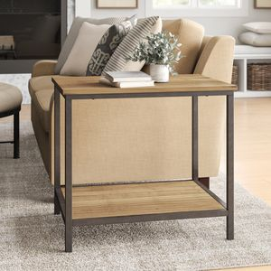 Rustic Side Table by Birch Lane, Farmhouse Accent Table for Living Room, Bedroom, Office, etc. for Sale in Angier, NC