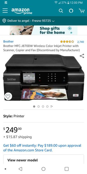 Brother printer and more for Sale in Fresno, CA