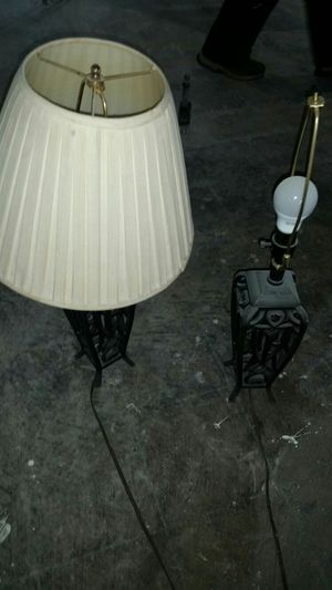 Set of metal lamps for Sale in West Palm Beach, FL