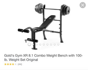 Golds Gym Weight Bench for Sale in Vacaville, CA
