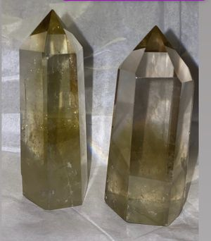 Citrine (heat-treated Amethyst ) Mini Towers for Sale in Los Angeles, CA