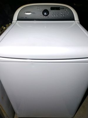 """WHIRLPOOL CABRIO PLATINUM"" WASHER KING SIZE CAPACITY PLUS for Sale in Phoenix, AZ"