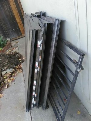 Metal shelves 48x20 $5. Each for Sale in Sacramento, CA