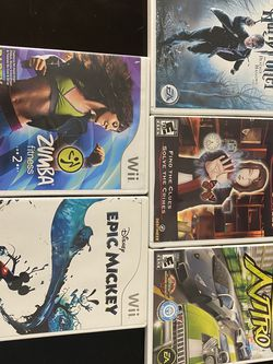 5 Nintendo Wii Games for Sale in Clearwater,  FL