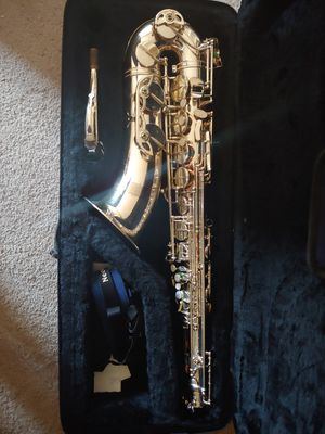 Professional model saxophone. com brand tenor sax and tone master Otto link mouthpiece for Sale in Las Vegas, NV