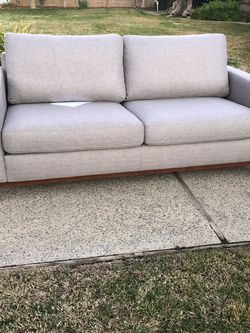 Brand New Mid Century Style Sofa, Retails For Over $900 for Sale in Fowler,  CA