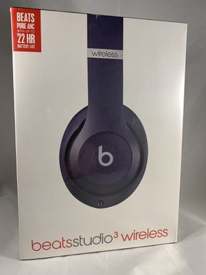 Beats by dre. Studio 3 Wireless Headphones for Sale in Stratford, CT