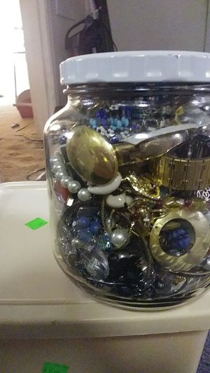 Jar of jewelry for Sale in Portland, OR