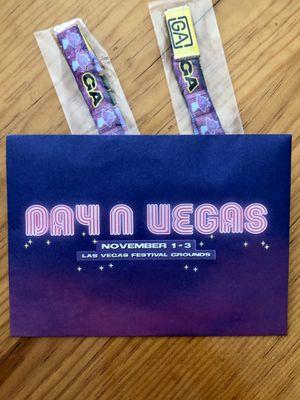 2 Day N Vegas tickets for Sale in Danville, CA