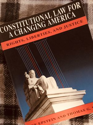Constitutional Law, for a Changing America: Rights, Liberties and Justice for Sale in Hollywood, FL