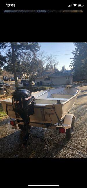 Aluminum boat for Sale in Lynnwood, WA