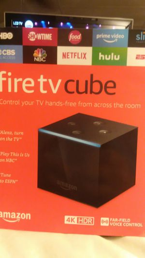 Amazon fire tv cube with alexa for Sale in Lexington, KY