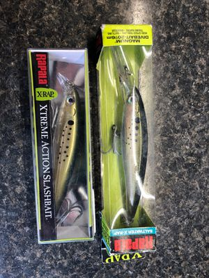 Two fishing lures for Sale in Long Branch, NJ