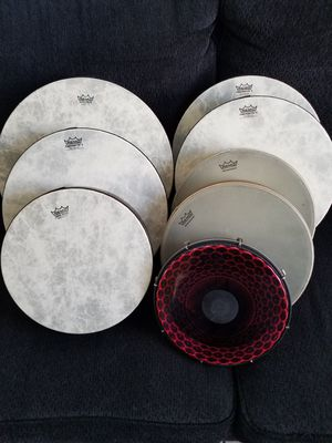 REMO Worldwide Hand drums 8pc set for Sale in Los Angeles, CA
