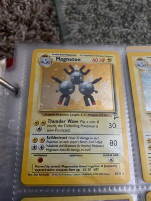 1995 holo graphic Pokémon cards ! Awesome conditions! Open to trades! Thanks for Sale in Henderson, NV