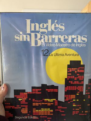 Complete edition Ingles Sin Barreras videos/booklets for Sale in Los Angeles, CA