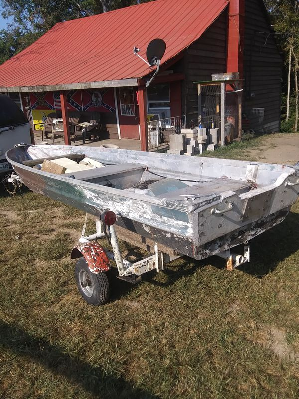 12ft boat and trailer
