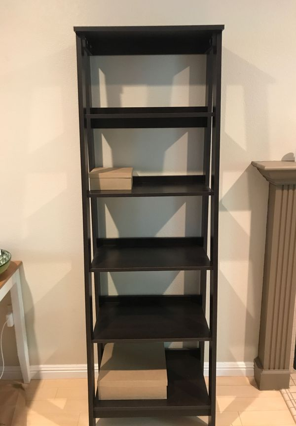 Nightstands (set of 2) and ladder shelf ($50), has to be picked up by buyer