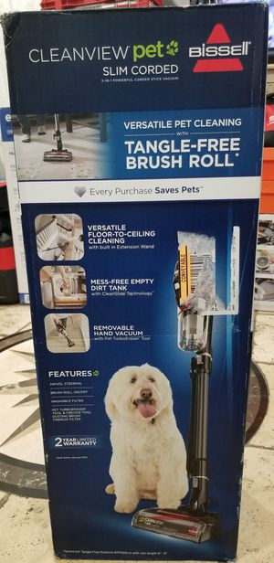 BISSELL CleanView Pet Slim Corded Stick Vacuum - 2831 ...price is firme...precio firme... for Sale in Los Angeles, CA
