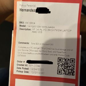 """14"""" HP Laptop for Sale in Carlsbad, CA"""