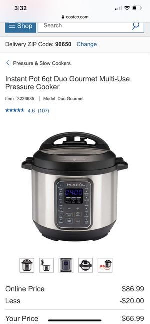 Instant pot for Sale in Norwalk, CA