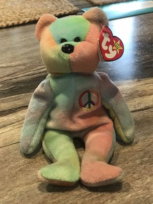 *Rare* Peace Beanie Babies Bear for Sale in Mount Joy, PA