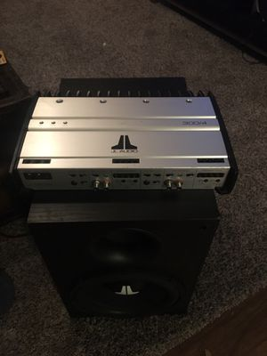JL Audio Slash Series 300/4 4 channel amp for Sale in Dallas, TX