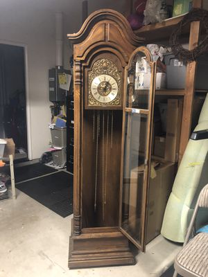 Trend antique grandfather clock for Sale in Poway, CA