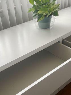 White 6-drawer Malm IKEA Dresser for Sale in Totowa,  NJ