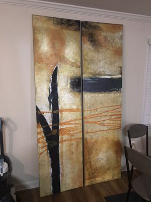 Canvas oil paintings for Sale in Alexandria, VA