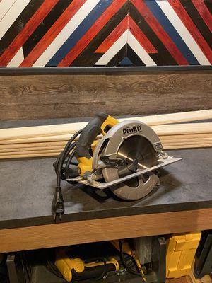 DWE575SB 7 1/4 circular saw. for Sale in Richmond, CA
