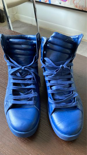 Men's Zara blue boots used few times size 12 for Sale in Florida City, FL