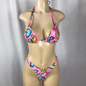 Zuliana Hot and Sexy stars & hearts thong bikini for Sale in Miramar, FL