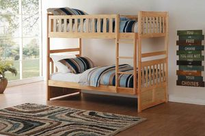 Bartly 2043 Pine Twin over Twin Bunk Bed for Sale in Houston, TX