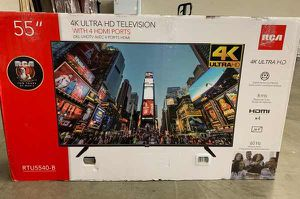 "New RCA 55"" 4K TV! Open box W/ warranty E1 for Sale in Maxwell, TX"