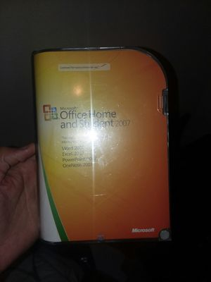 Microsoft Office Home and Student 2007 for Sale in Navarre, FL