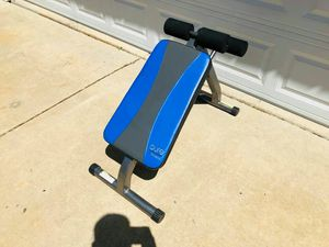 Ab Bench - Pure Fitness - Gym Equipment - Training - Work Out for Sale in Bolingbrook, IL