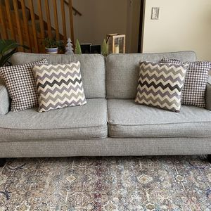 Gray Sofa Bed : Queen Size for Sale in Chicago, IL