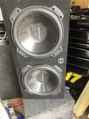 Kenwood subs 1000 watts for Sale in Richardson, TX