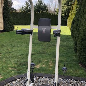 Body Vision Power Tower Pull Up Chin Up Dip Station for Sale in Lynnwood, WA
