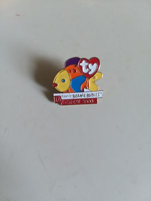 Mcdonalds TY BEANIE BABY Fish Lapel CREW PIN. From 2000. for Sale in Takoma Park, MD