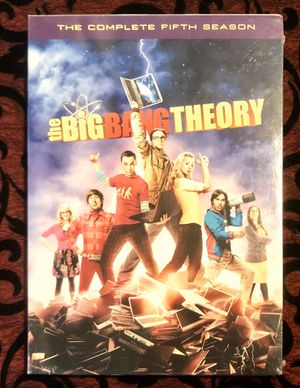 NEW the BiG BANG THEORY TV Series The Complete Fifth Season Sealed!! for Sale in Orlando, FL
