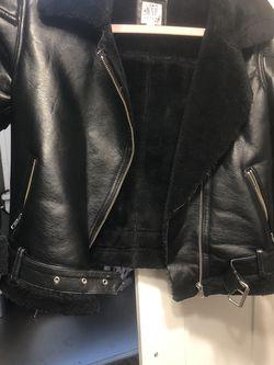 Gap Leather Jacket Kids L for Sale in Philadelphia,  PA