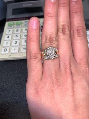 Cluster Diamond Ring for Sale in Houston, TX