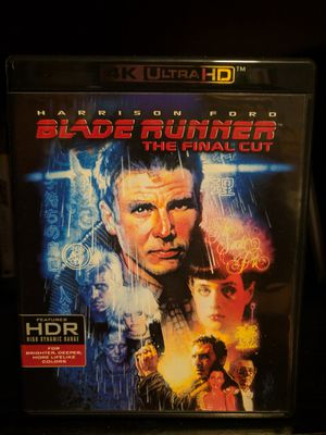 Blade Runner: The Final Cut 4K/Blu-ray (Code Used) for Sale in Chicago, IL