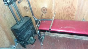Weights and bench for Sale in Points, WV