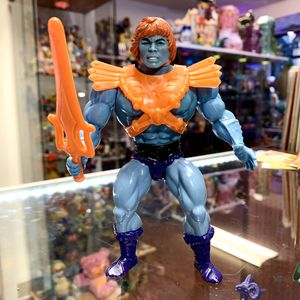 Vintage Heman and the Masters of the Universe Fake (Blue Robot Heman) Action Figure With Weapon And Body Armor, 1981 MOTU Toy for Sale in Elizabethtown, PA