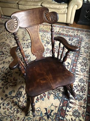Decorative antique rocking chair for Sale in Willowbrook, IL