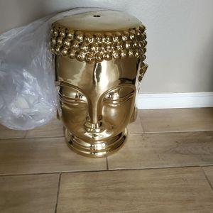 Gold BUDDA STOOL for Sale in Fresno, CA